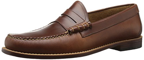 G.H. Bass & Co. Men's Larson Penny Loafer, Saddle Tan, 10 D US ()