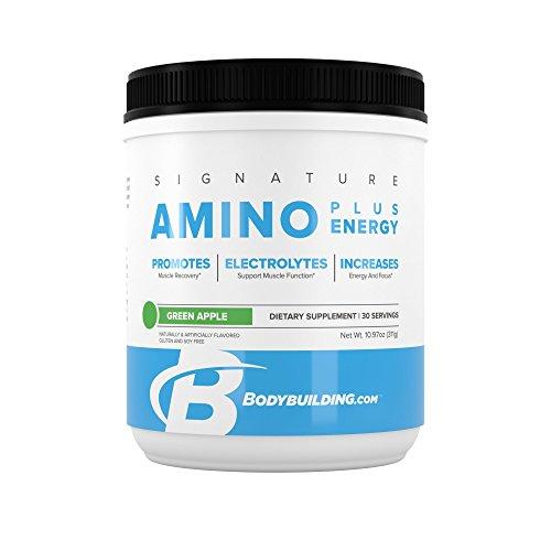 Signature Amino Plus Energy  Green Apple