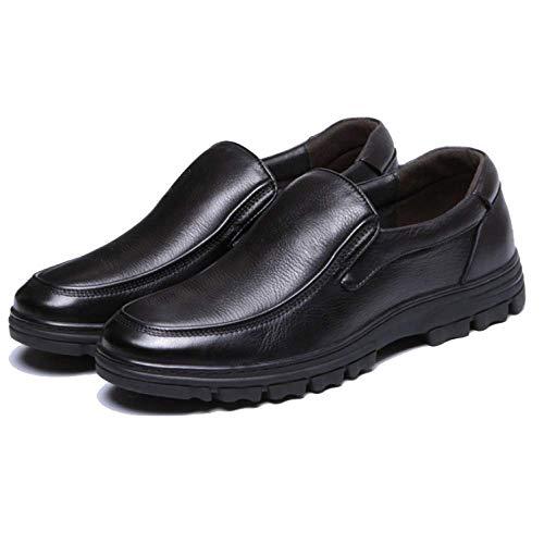 Formale Aiuto Pelle In Basso Black Affari Uomo Casual Zqzq Abbigliamento Scarpe Da Inverno xqOanR0
