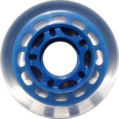 80mm 78A BLUE INLINE Indoor WHEELS Rec/Fitness/Hockey 8-PACK