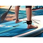 Unigear-Leash-da-Surf-Zacro-10-Piedi-Surboard-Leash-Alzarsi-Paddle-Board-Guinzaglio-Tavola-Rimanere-a-Bordo-con-Custodia-per-Telefono-Impermeabile