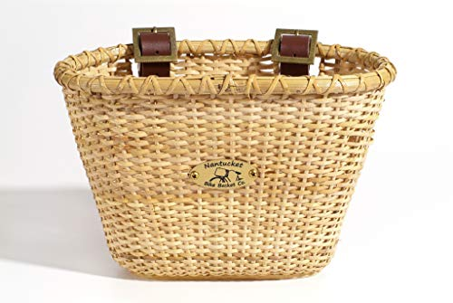 Toddler Wicker - Nantucket Bicycle Basket Co. Lightship Collection Children's Bicycle Basket, Oval, Natural
