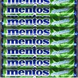 10 Rolls of Mentos Spearmint Candy