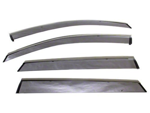 SUBARU Genuine E3610FJ860 Side Window Deflectors, 1 - Deflectors Wind Subaru