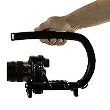 Cam Caddie Original Scorpion Video Camera Stabilizer Handle for Nikon, Canon, JVC, Toshiba, Sony, Olympus, Pentax, Apple iPhone, GoPro Hero 4, Hero 3+, Hero 3 and More - Black (0CC-0100-00)
