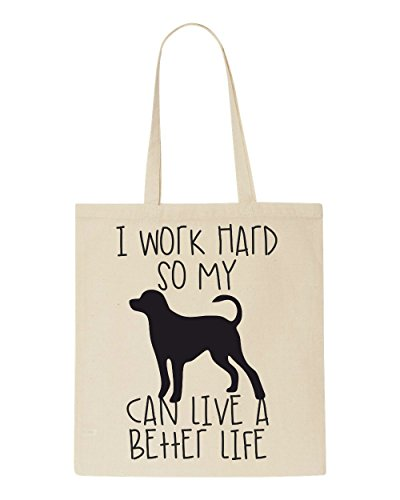 Sublimation Sub Have Dog Tote A Cute My Can Animal Life Shopper So Bag I Hard Themed Funny Better Natural Work awIqfYnZx6