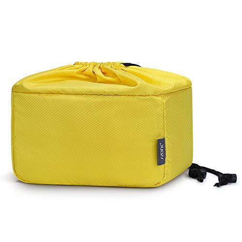 S-ZONE Shockproof DSLR SLR Camera Bag Partition Padded Camer