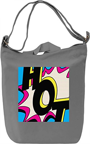 Hot Pop Art Full Print Borsa Giornaliera Canvas Canvas Day Bag| 100% Premium Cotton Canvas| DTG Printing|