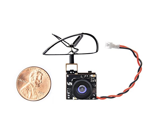 Wolfwhoop WT06 Micro AIO 600TVL Camera Only 3.5g 5.8GHz 25mW FPV transmitter with Clover Antenna Combo for FPV Racing Drone by Wolfwhoop