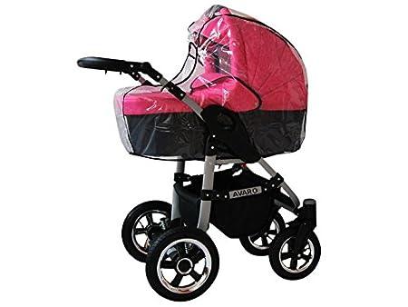 Babylux Avaro Cochecito de bebé combinado 3 en 1 - Cochecito de bebé ...