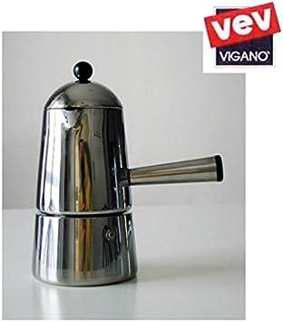 Cafetera CARMENCITA VEV 3 TZ Cámara CAFFE maquinilla espresso: Amazon.es: Hogar