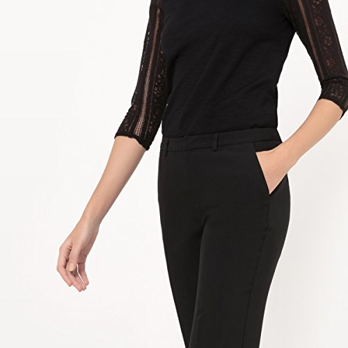 Redoute Donna La Dritti Pantaloni Nero Collections TOnqw4