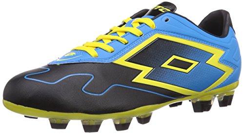 Lotto Sport LOTTO ZH GRAV VI 300 TX - Botas de fútbol de goma para hombre multicolor - Mehrfarbig (BLACK/FL BLUE)