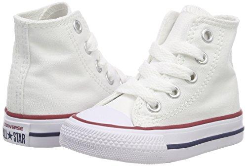 Bianco Core Sneaker Unisex Hi bianco 015860 34 Converse Ctas Bambini 3 Zqg4w4C