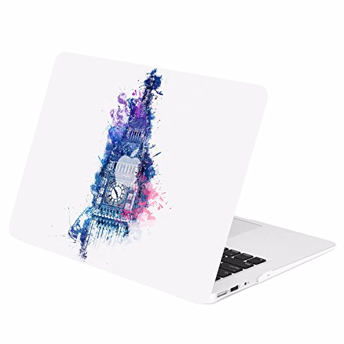 TOP CASE - Air 13-Inch Vector Pattern Rubberized Hard Cas...