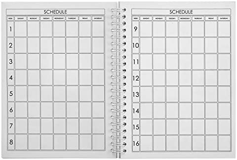 ProFit Fitness and Food Journal - Weight Loss Planner | Workout Log | Diet Notebook | Gym Exercise Diary - Easy-To-Use A5 Fit Book / 6x8 Inches / 140 Pages / Undated 5