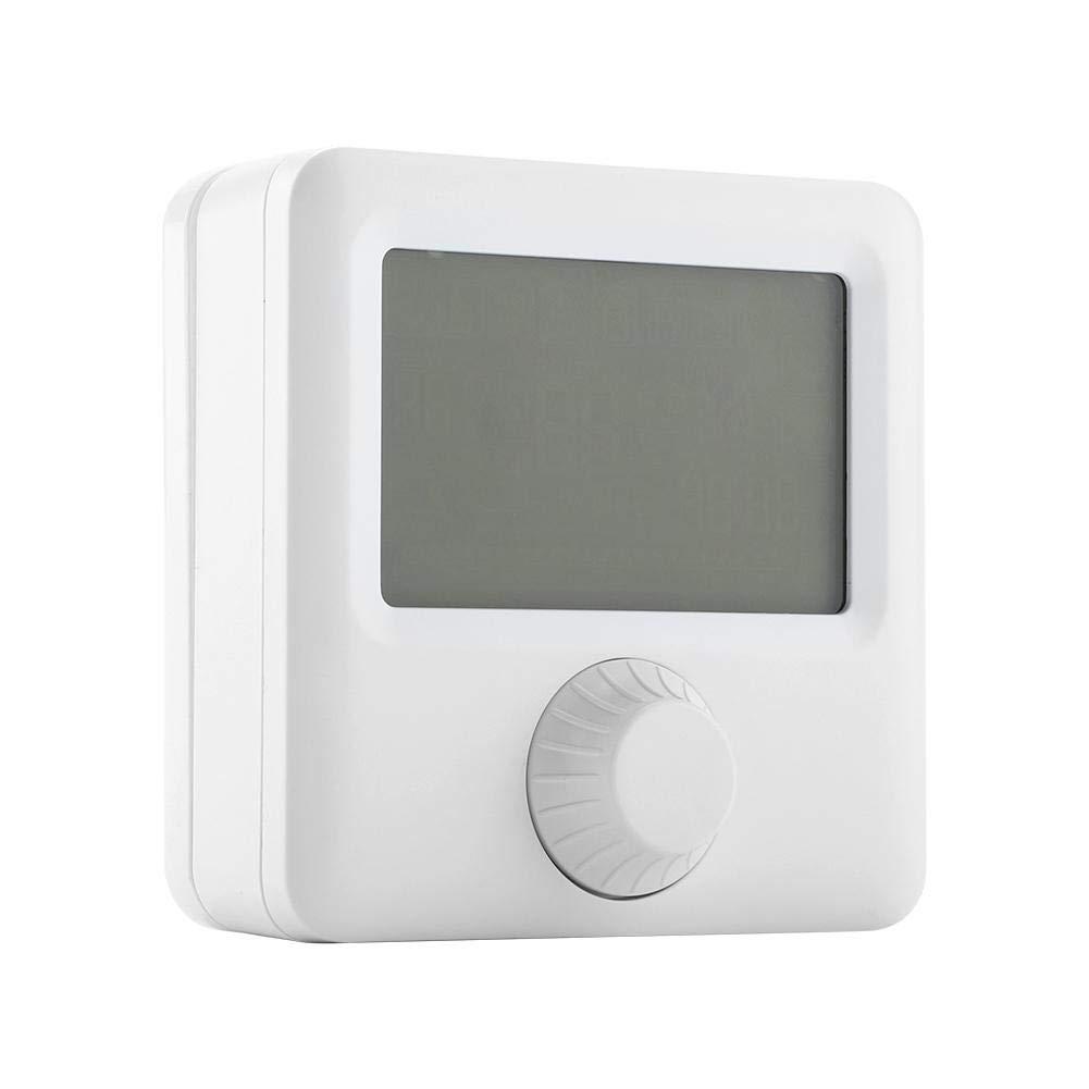 Controlador de temperatura pantalla LCD digital HYO6BW Controlador de temperatura del termostato programable de calefacci/ón para el hogar