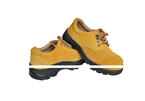 Men's Work Safety Shoes, Steel Toe Work Shoes Industrial & Construction Shoes Puncture Proof Safety Shoes (11) by GeBaoZhen (Image #5)