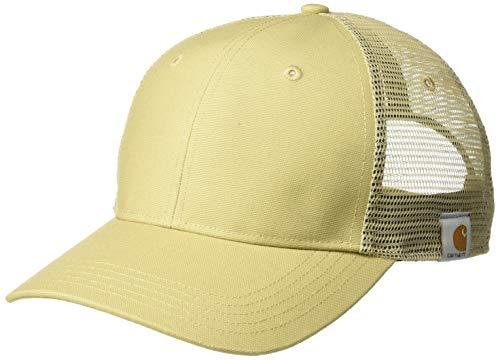 Rugged Trucker Cap - Carhartt Men's Rugged Professional Series Cap, Dark Khaki, OFA