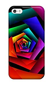 4s Scratch-proof Protection Case Cover For Iphone/ Hot Cosmic Flower Phone Case