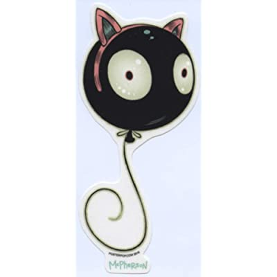 Poster Pop Wiggle Kitty Sticker by Artist Tara McPherson: Toys & Games
