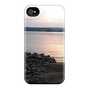 CaroleSignorile Scratch-free Phone Cases For Iphone 6- Retail Packaging - Lake Shore Time To Relax wangjiang maoyi