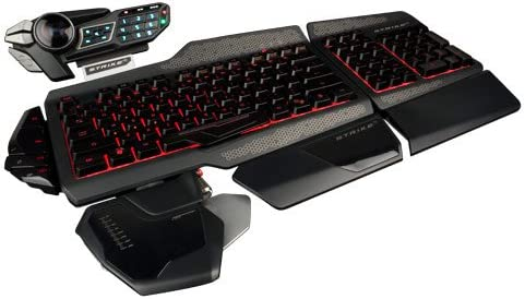 Mad Catz STRIKE5 - Teclado Gaming para PC/Mac (PC/Mac), Negro