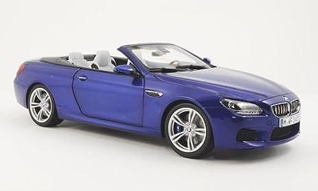 BMW M6 Convertible (F12), Met. Blue , 2012, Model Car