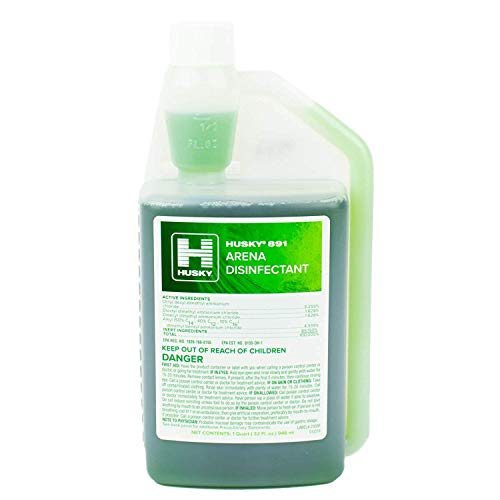 HUSKY 891 Arena Disinfectant, 32 oz. Squeeze and Pour Container