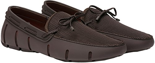 Lace Braided SWIMS Brown Men's Loafers HzxwEZq