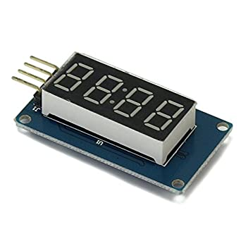 Solu LED Display Module 4 Bits Digital Tube With Clock
