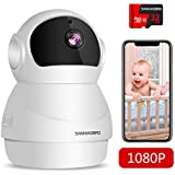 WiFi Home Security Camera 1080P, Include 32GB Card FHD Wireless IP Pan/Tilt/Zoom Cam,Surveillance Dome Cameras,Two-Way Audio,Motion Detection