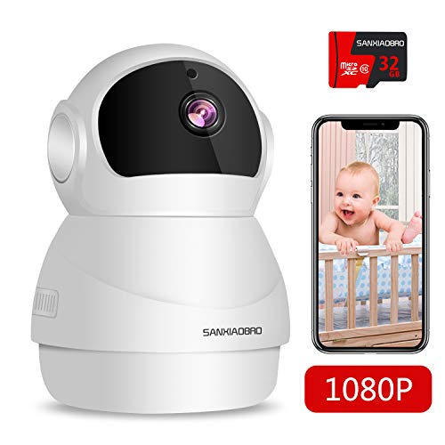 Home Security Camera 1080P, Include 32GB Card FHD Wireless for sale  Delivered anywhere in USA