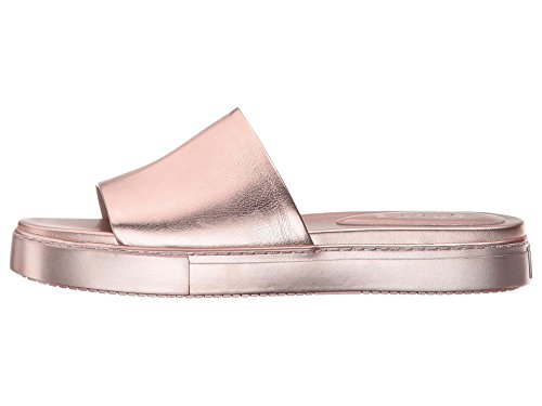 1. State Womens Joaquin Leather Open Toe Casual Slide Sandals, Rose, Size 7.5