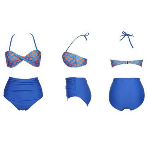 Onda - Conjunto - para mujer azul azul large