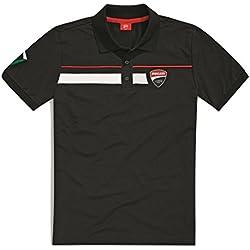 Ducati Corse Speed Short Sleeve Polo Shirt (XL, Black)