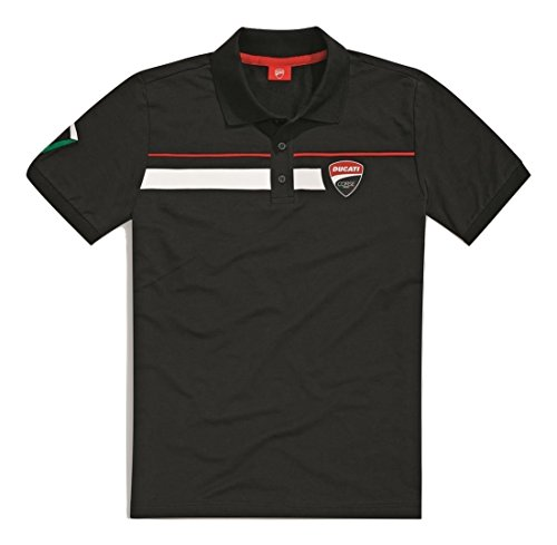 ducati-corse-speed-short-sleeve-polo-shirt-xl-black
