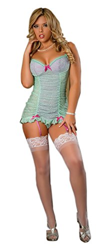Magic Silk Bustier Chemise & G-String