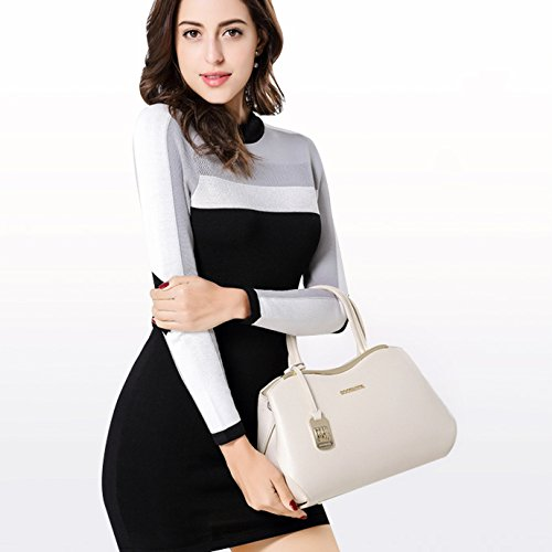 Black Bags Brown Shoulder Women's Pink Red Fashion Brown Crossbody Leather Blue Bag White Handbag Real FwfAB