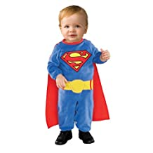 Rubies Costume Co Canada Superman Romper with Removable Cape Superman, Superman, Toddler  2-4