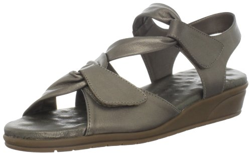 Walking Cradles Women's Valerie Sandal,Bronze Leather,12 M US by Walking Cradles