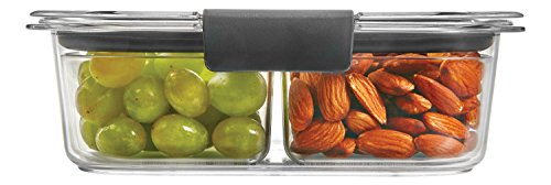 Rubbermaid Brilliance Snack Food Storage Container, Mediu...