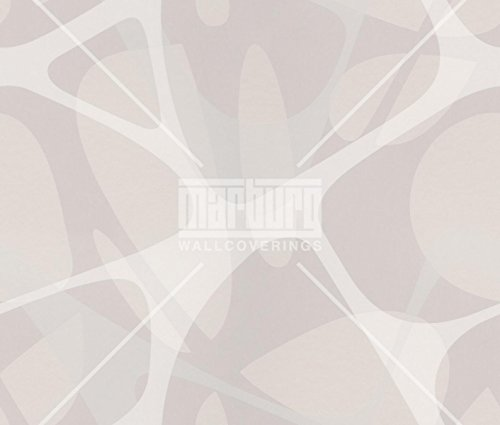 art borders ZAHA HADID wallpaper, color: white, beige, grey, article no:. 6050-4147 by n.a.