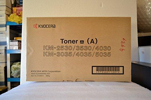 Kyocera 370AB011 Model TK-2530 Black Toner Kit For use with Kyocera KM-2530, KM-3035, KM-3530, KM-4030, KM-4035, KM-5035, CS-3035, CS-4035, CS-5035, Ri 2530, Ri 3530 and Ri 4030 Laser Printers