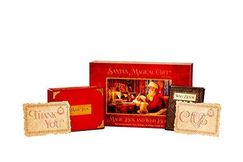 Santa's Magical Gift Magic Box and Wish Book Accessory Pack ()