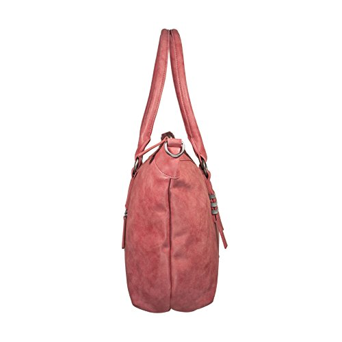 Fritzi aus Preußen Olivia Vintage Bolso de mano 52 cm Red