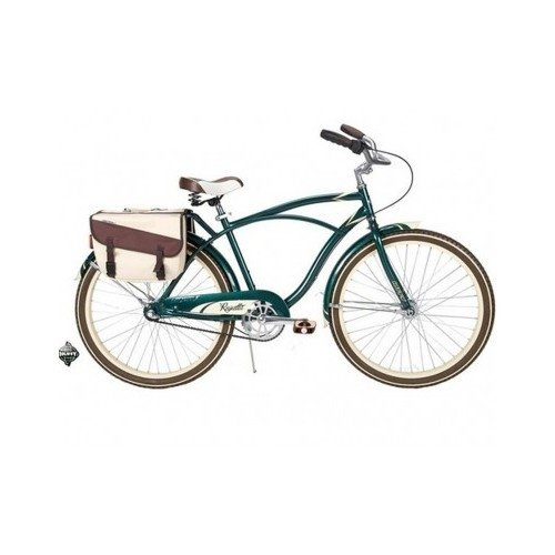 26″ Huffy Regatta Men's Cruiser Bike, Hunter Green