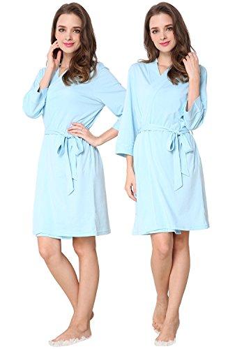 Godsen Womens Comfort Bathrobe Sleepwear