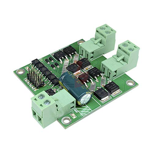 12V 24V 7A 160W Dual DC Motor Driver Module H-Bridge L298 Logic Control Signal Optocoupler PWM Drive Reversing Braking