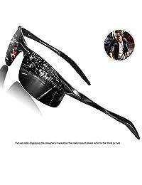 352f323b97 SUNMEET Men s Sports Style Polarized Sunglasses for Men Metal Frame Ultra  Light S1005